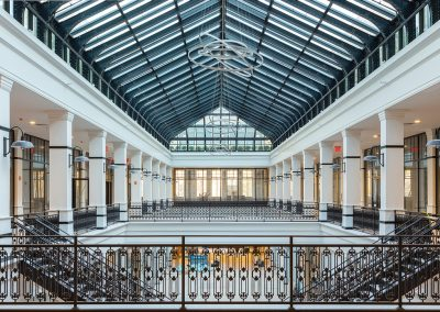 Hahne & Co. Building Atrium Area