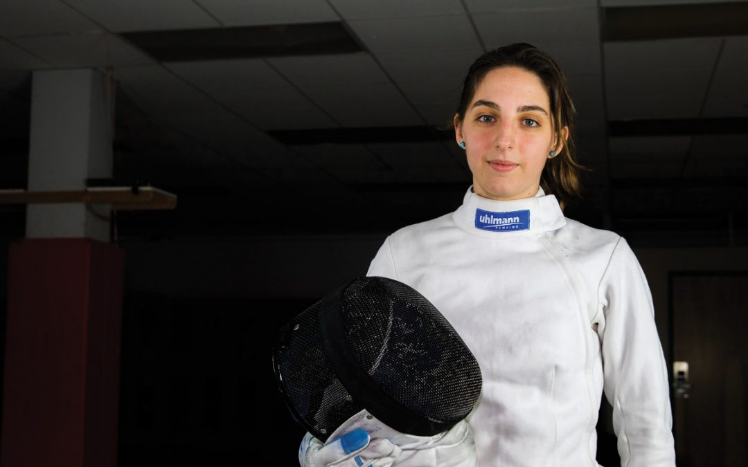 Fencing Led Student to NJIT