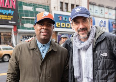 Mayor Ras Baraka with Director Todd Phillips