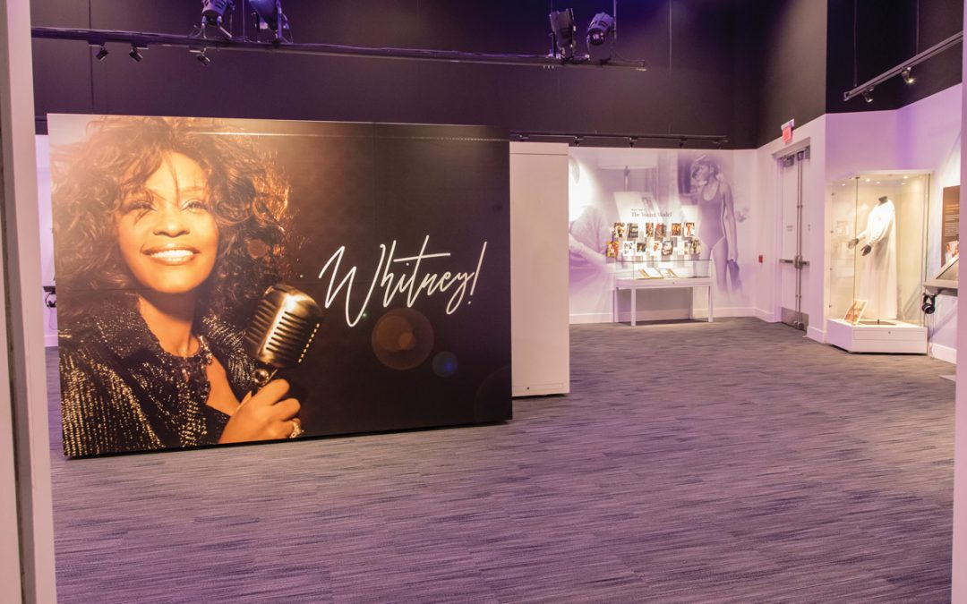 Whitney! GRAMMY Museum Experience at the Prudential Center—Don't Miss It!