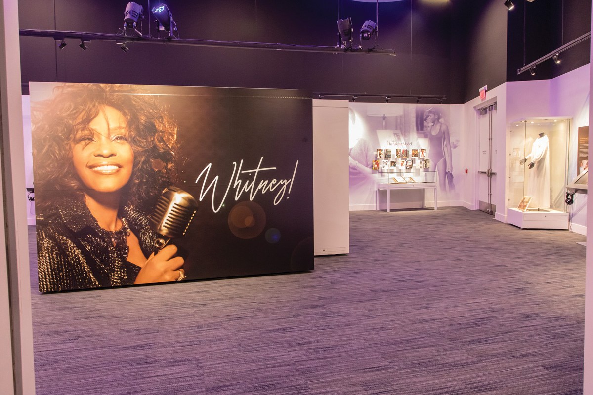 Whitney! GRAMMY Museum Experience at the ­Prudential Center—Don't Miss It!