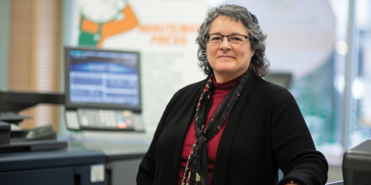 Take A Lesson From Holly Kaplansky; Minuteman Press CEO