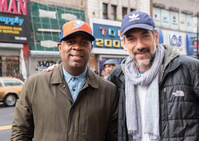 Mayor Ras Baraka with Director Todd Phillips